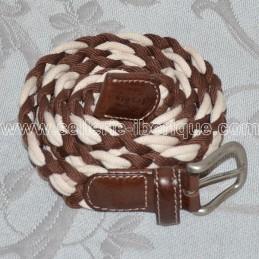 Braided cotton belt Lexhis
