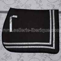 Alta escuela and spanish saddle pads