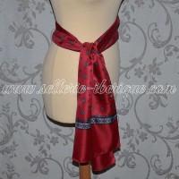 fajines (belt-scarf)