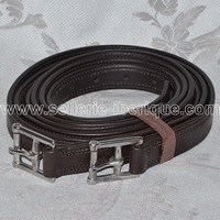 Leather stirrups for iberian & english saddles.