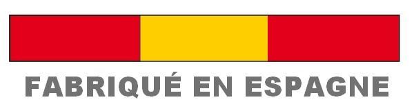 """étiquette """"fabriqué en Espagne"""""""